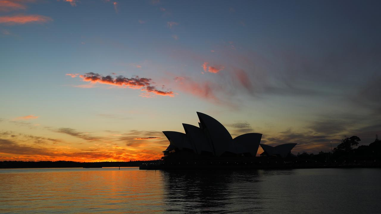 The forecast in Sydney is very warm today ahead of a change. Picture John Grainger