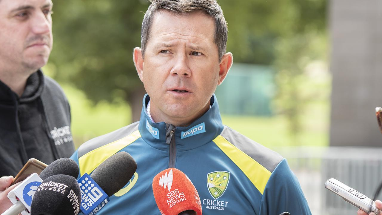 Ricky Ponting can only guarantee seven stars a spot in the Aussie team for the First Test this summer.