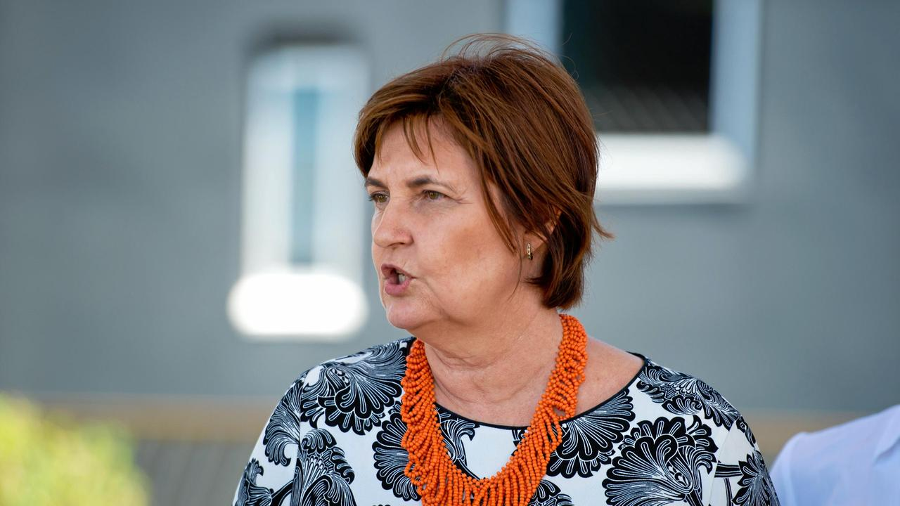 """Mackay MP Julieanne Gilbert said """"People in Mackay are terrified about what's going to happen to their mums, their dads, their grandparents, or themselves when they need to access aged care""""."""