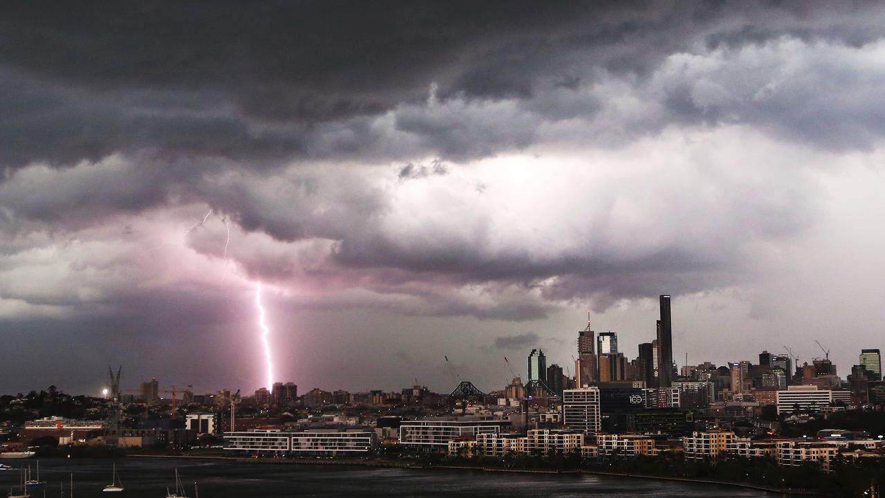 The Bureau warns storms forecast for Tuesday afternoon are likely to have lots of lightning, but little rain.
