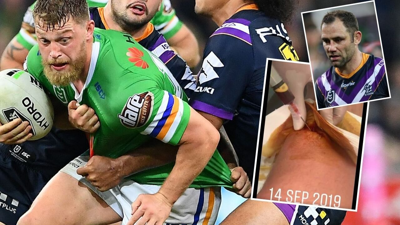 Elliott Whitehead's brutal response to Cameron Smith.
