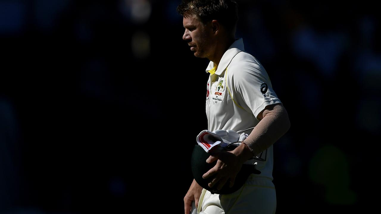 David Warner's horror Ashes ended on an appropriately downbeat note at The Oval.