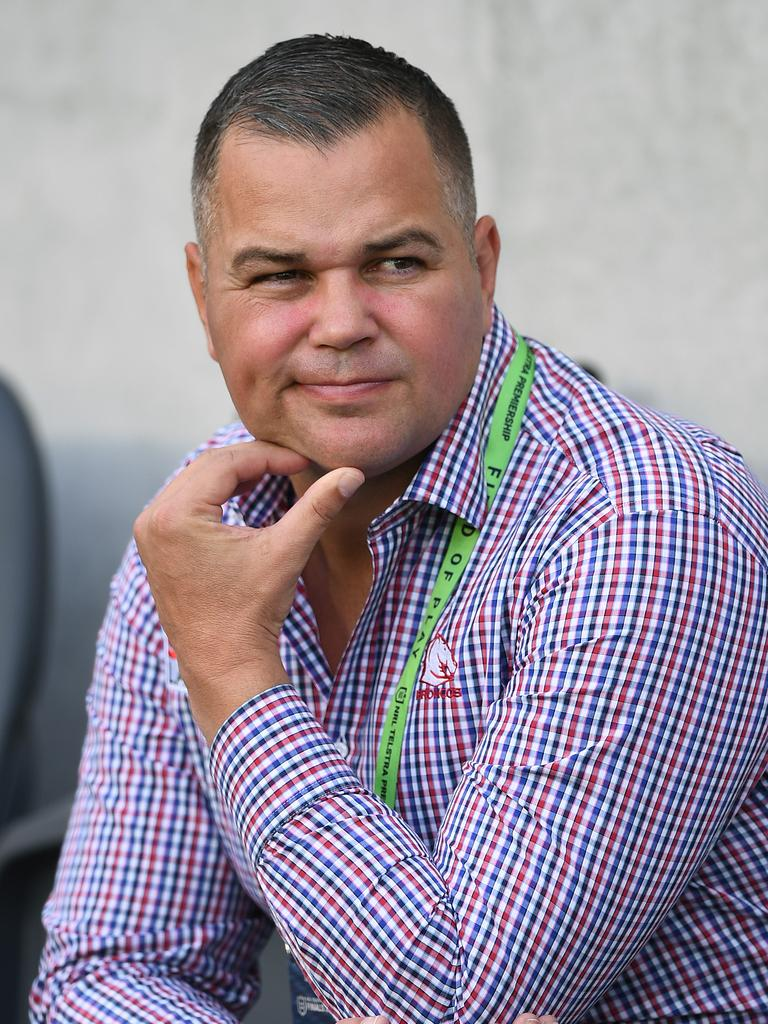 Brisbane Broncos coach Anthony Seibold. Picture: Joel Carrett