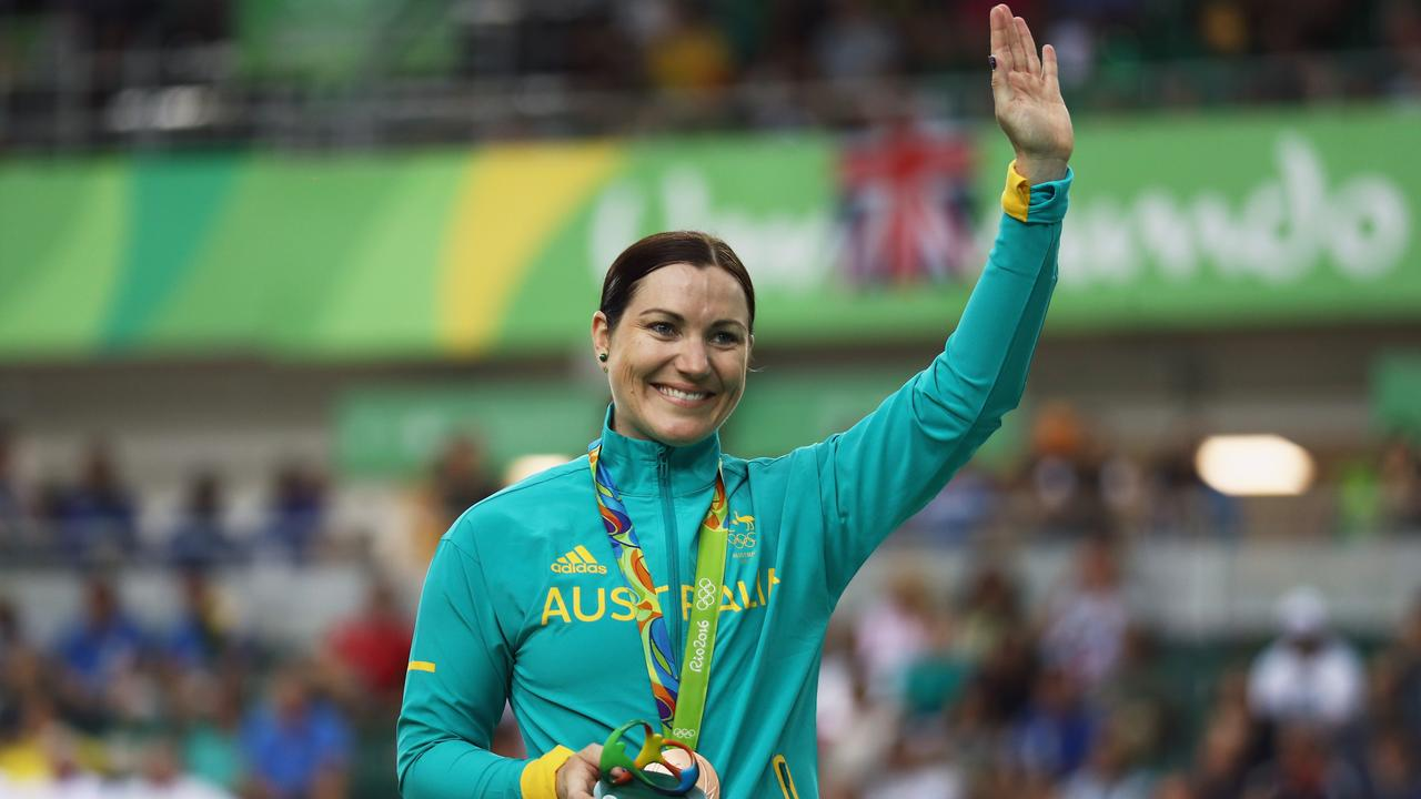Meares retired after a bronze medal in the keirin at the 2016 Rio Olympics. Picture: Bryn Lennon (Getty)