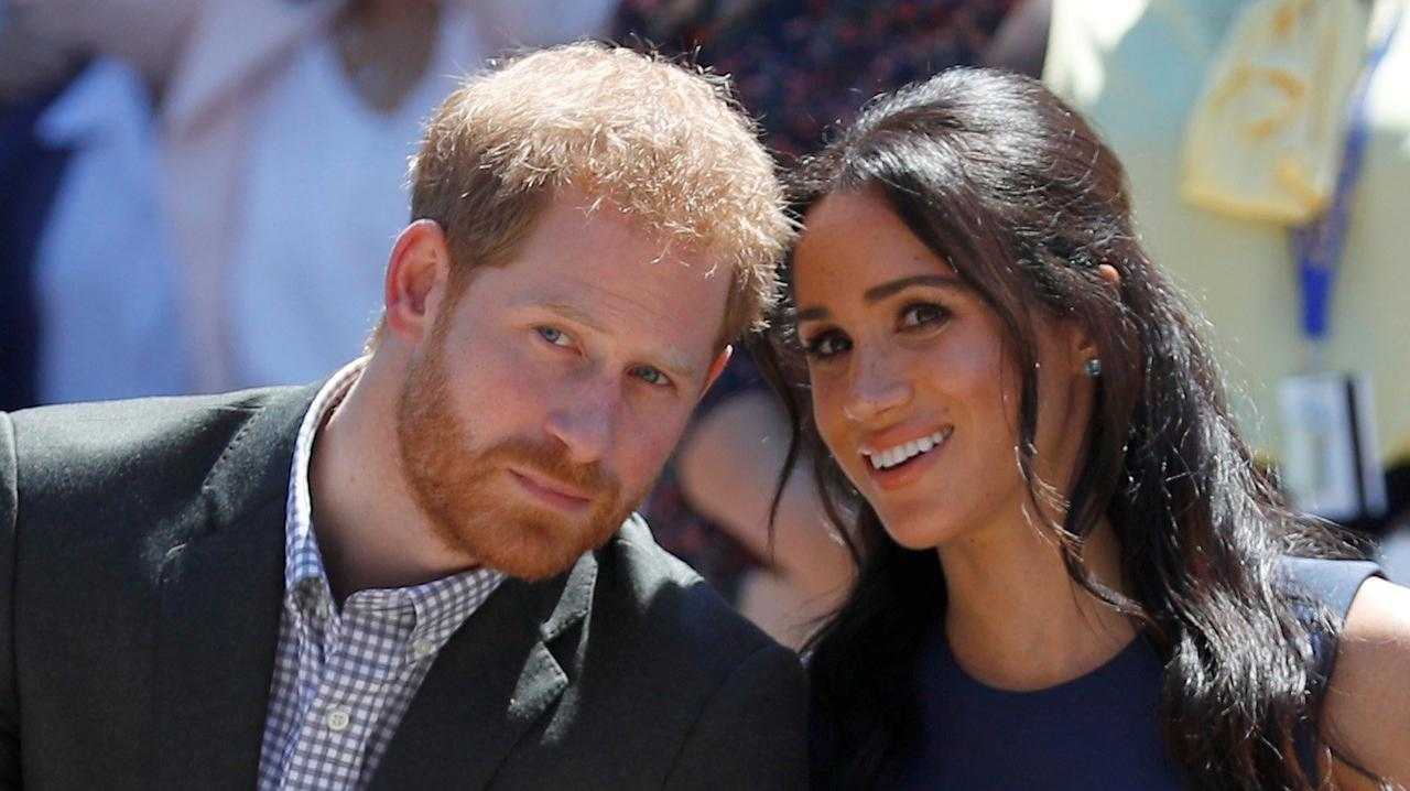 Meghan Markle has shared a sweet birthday tribute to her husband, Prince Harry. Picture: Phil Noble/Pool/Getty Images