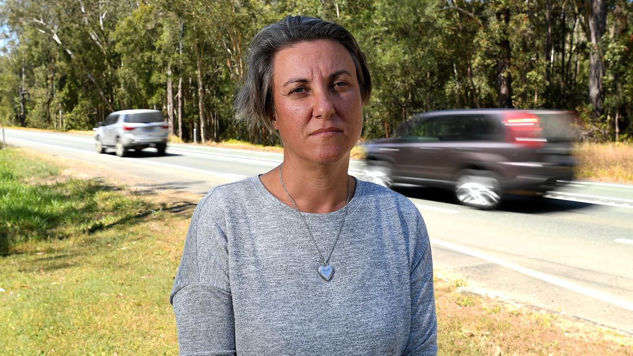 Catherine Frewer, widow of cycling safety advocate Cam Frewer who was killed last year on Caloundra Rd, has spoken out about the second cyclist to be killed on Coast roads in less than a year. Photo: Warren Lynam