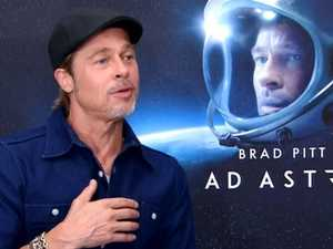 Brad Pitt discusses AA on The Project