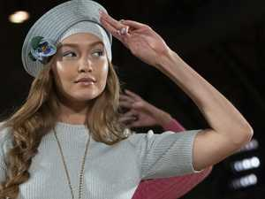 Gigi shrugs off wardrobe malfunction