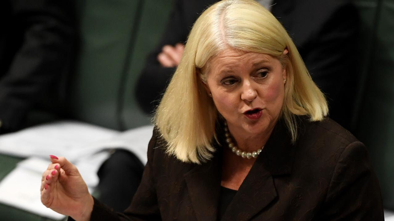 Industry Minister Karen Andrews says the resources industry needs to embrace technology to create new jobs. Picture: Tracey Nearmy/Getty Images