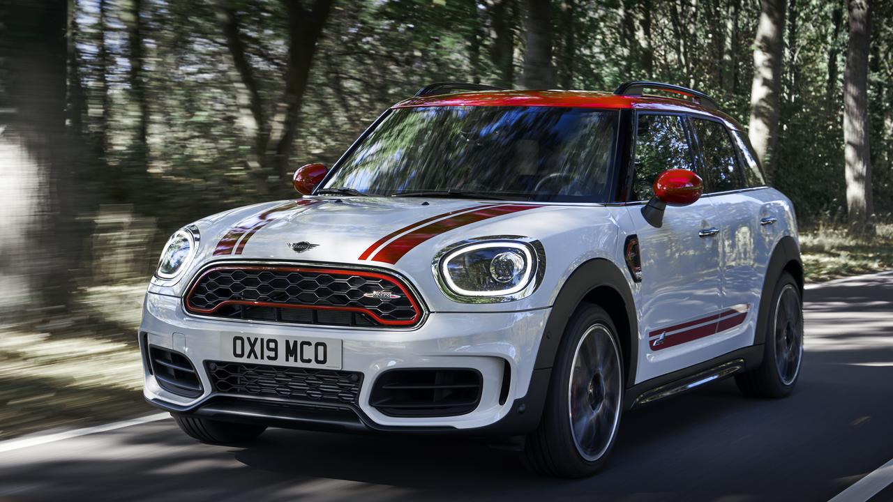JCW Clubman and JCW Countryman will arrive in Australia this year.