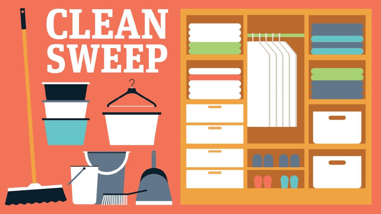 Clean Sweep is news.com.au's home organisation series.