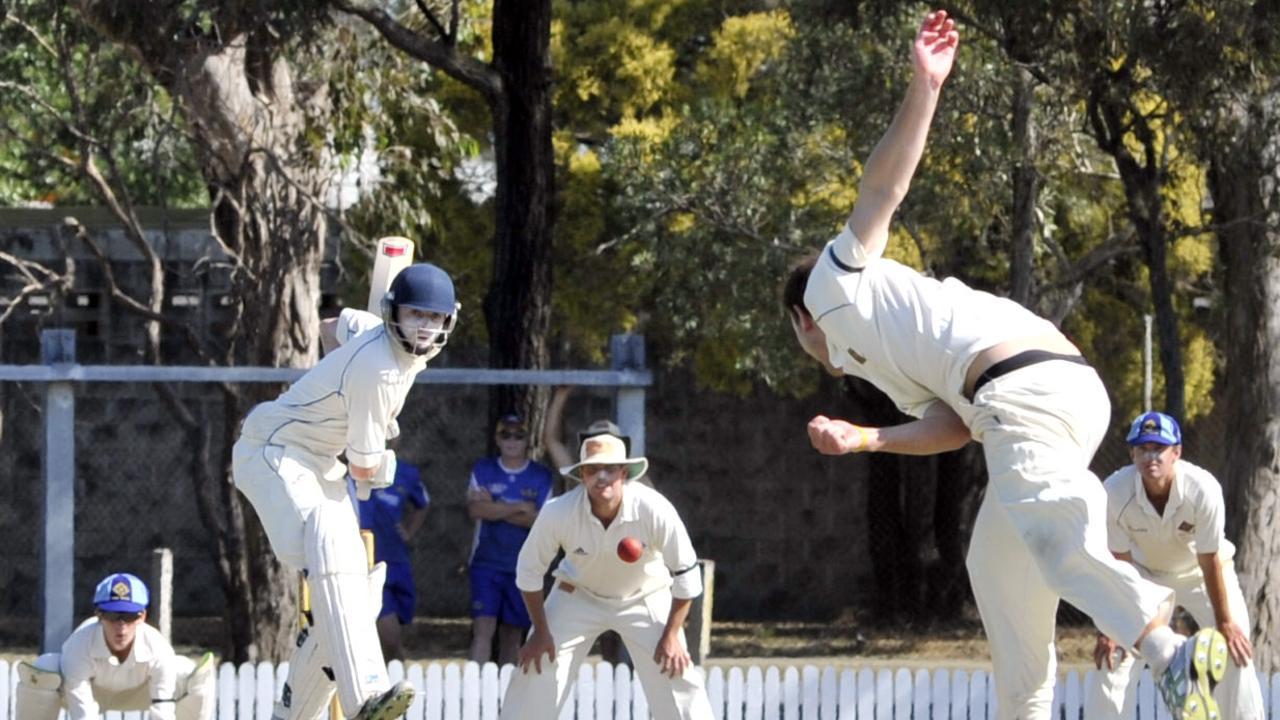 sandnth - Sandgate-Redcliffe vs Norths Premier Grade Cricket at the Sandgate-Redcliffe Cricket Club, Trevor Hohns Field, Deagon; Sam Lowry (Sandgate)