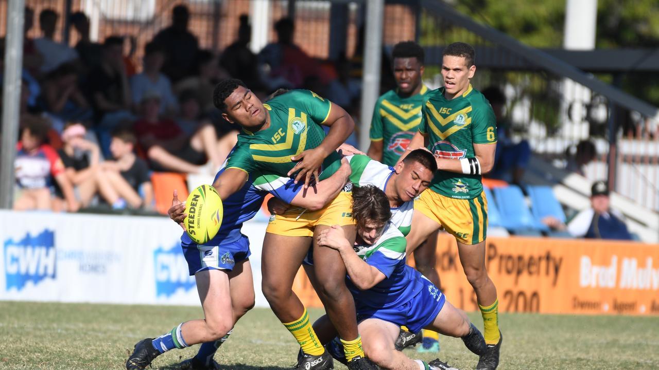 Rugby League: St Brendan's Ilami Buli.