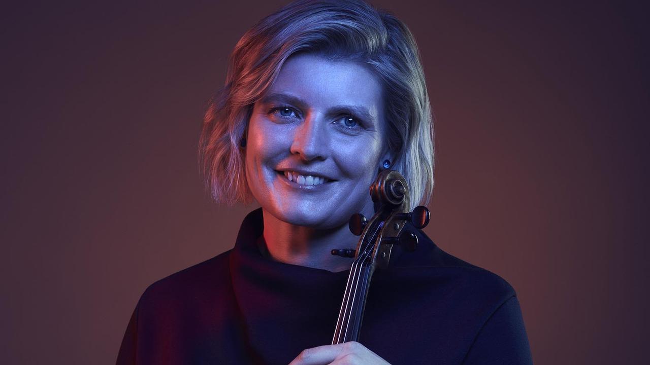Queensland Chamber Orchestra principal violinist Helena Rathbone