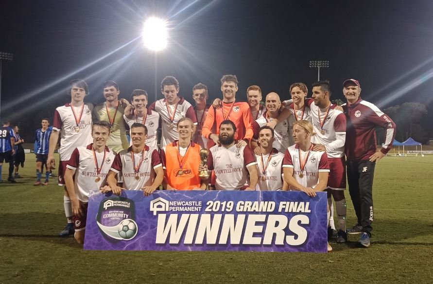 BACK-TO-BACK: The Boambee Bombers claimed the 2019 C.ex Group Men's Premier League title on Saturday night.