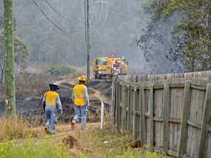 'Blaze contained': Redbank Plains bushfire
