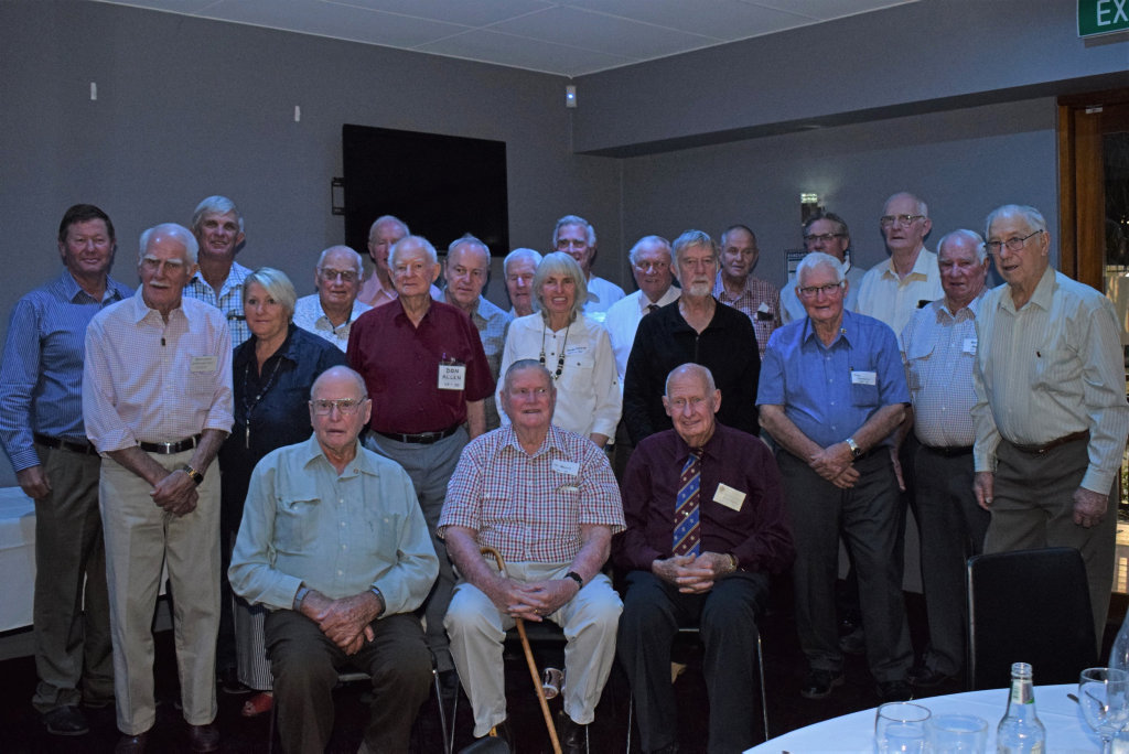 FUN TIMES: Gatton College students gathered on Saturday night for a reunion and to remember this time at college.