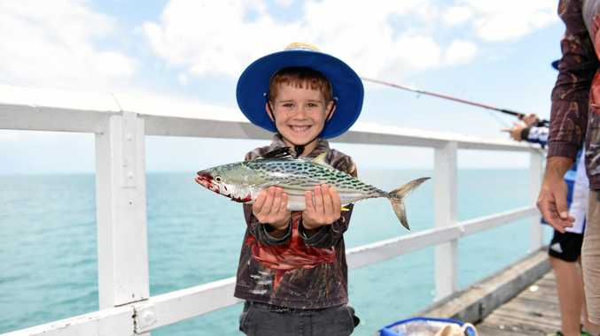 Bay children can reel in a prize without hooking a fish