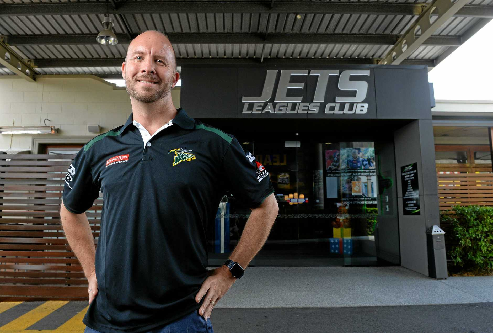 The new Ipswich Jets CEO for 2019 is Richard Hughes.