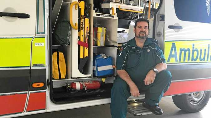 Off-duty Murgon paramedic saves family from house fire
