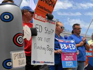 How can Lismore Base Hospital avoid attacks on their staff?