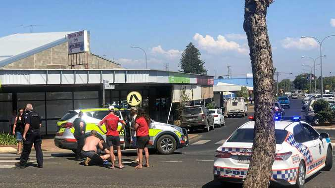 Cyclist in stable condition after Haly St collision