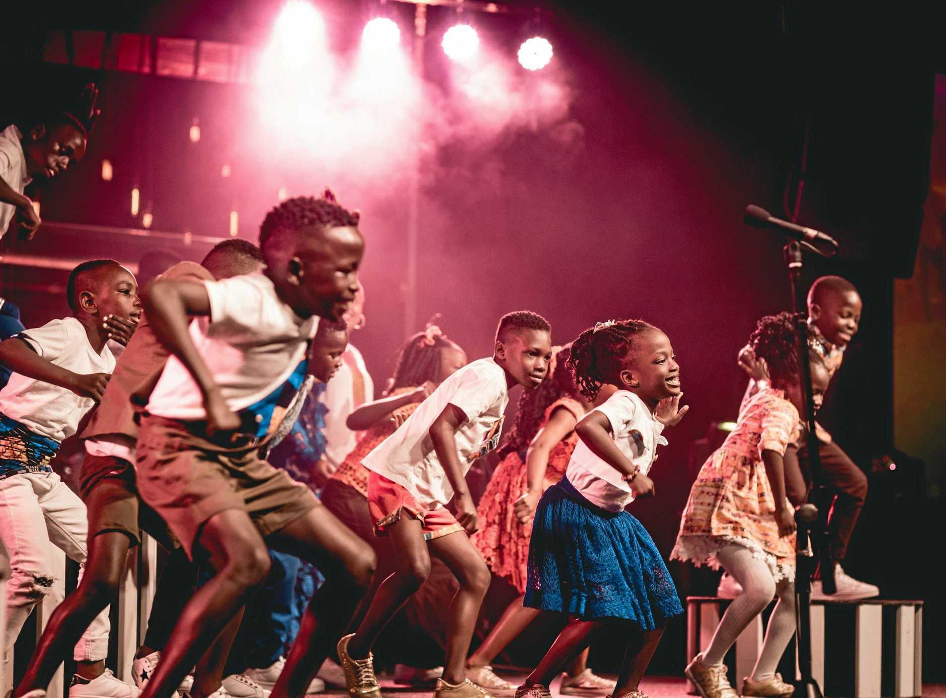 The Watoto Children's Choir enjoy travelling through regional Australia to perform to new audiences.