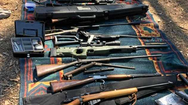 'Recipe for disaster': Monster guns, drugs haul on Coast