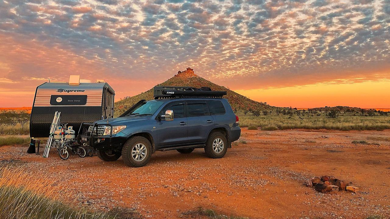 Vanlife is booming around Australia. Picture: Amy Sayle/Instagram @__wild_tribe__
