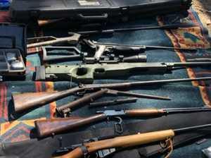 Bundy Border Force in huge haul of guns, grenade and drugs