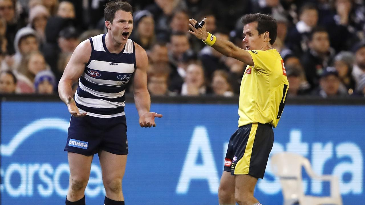 Patrick Dangerfield should be the top Cat. Picture: Getty Images