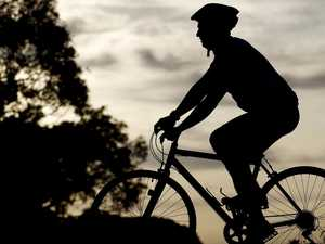 Cyclist hospitalised after early morning crash