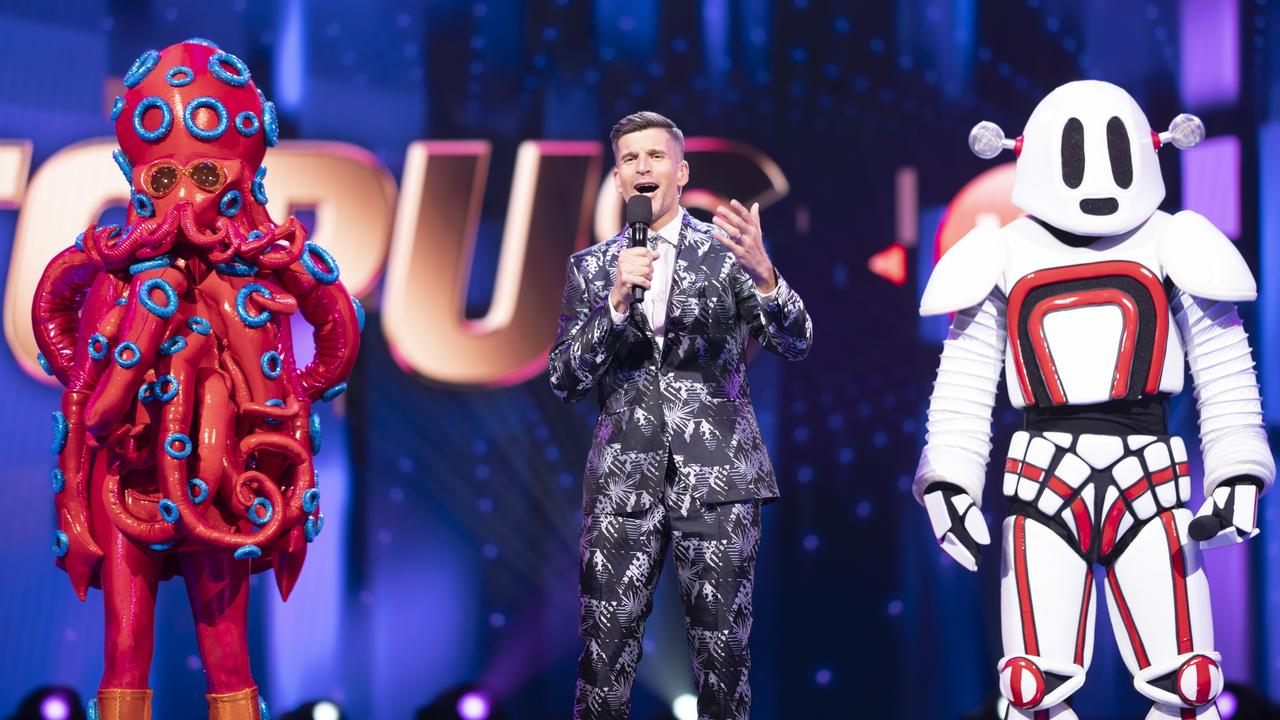 Costumes from The Masked Singer.