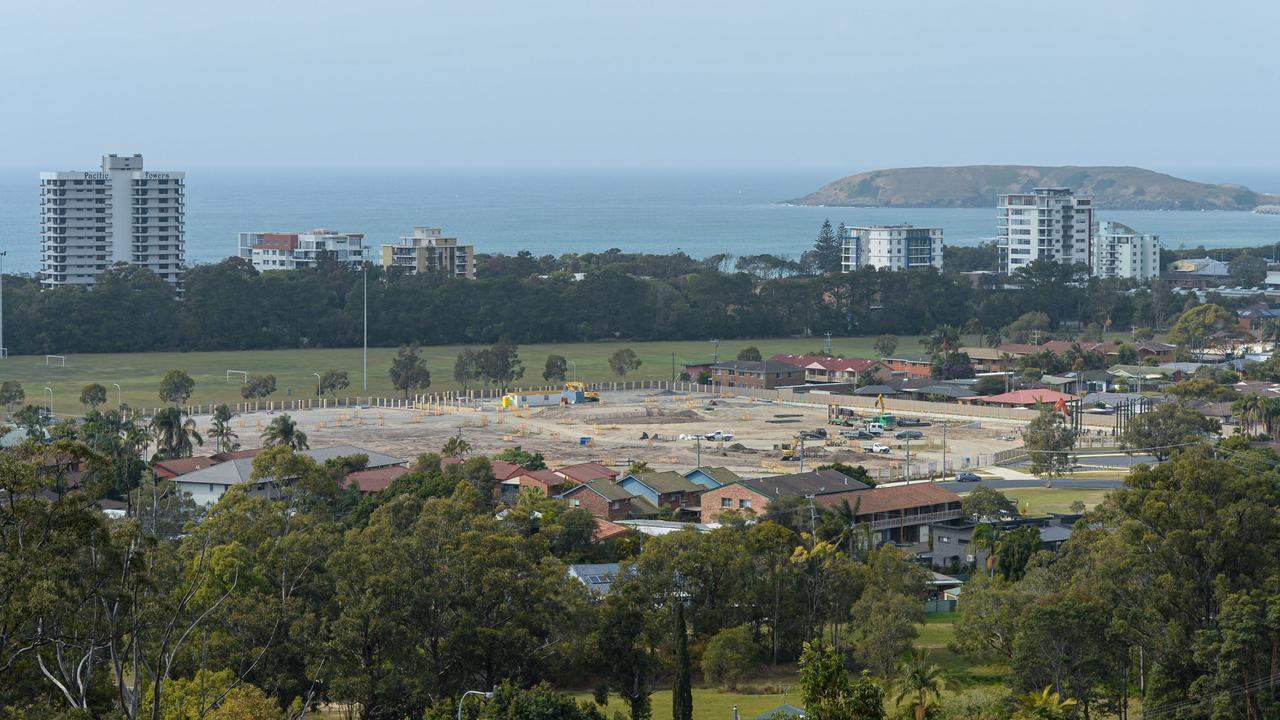 The Shoreline development site.