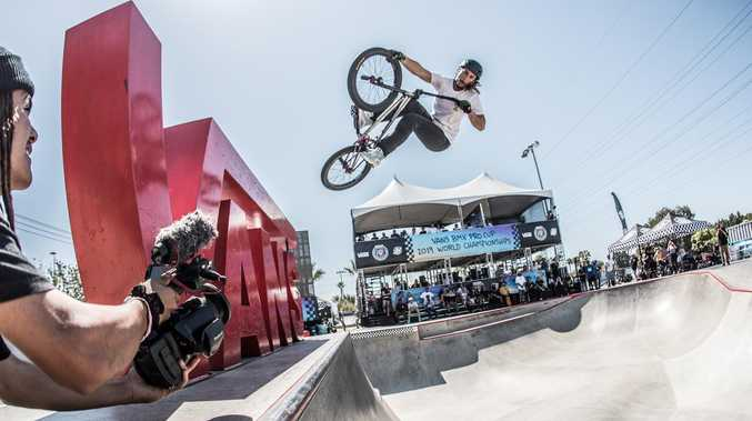 Dream comes true for BMX star from Tannum Sands