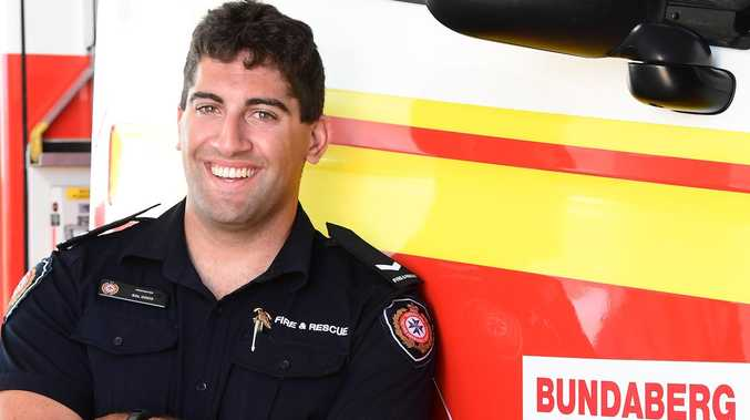 Home town horror  Bundy fireman heads to the family farm to help