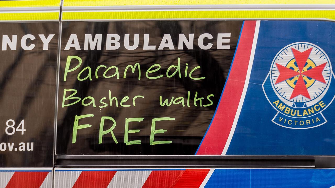 The sentence infuriated Victorian paramedics. Picture: Jake Nowakowski