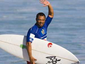 Surfing legend speaks after coma