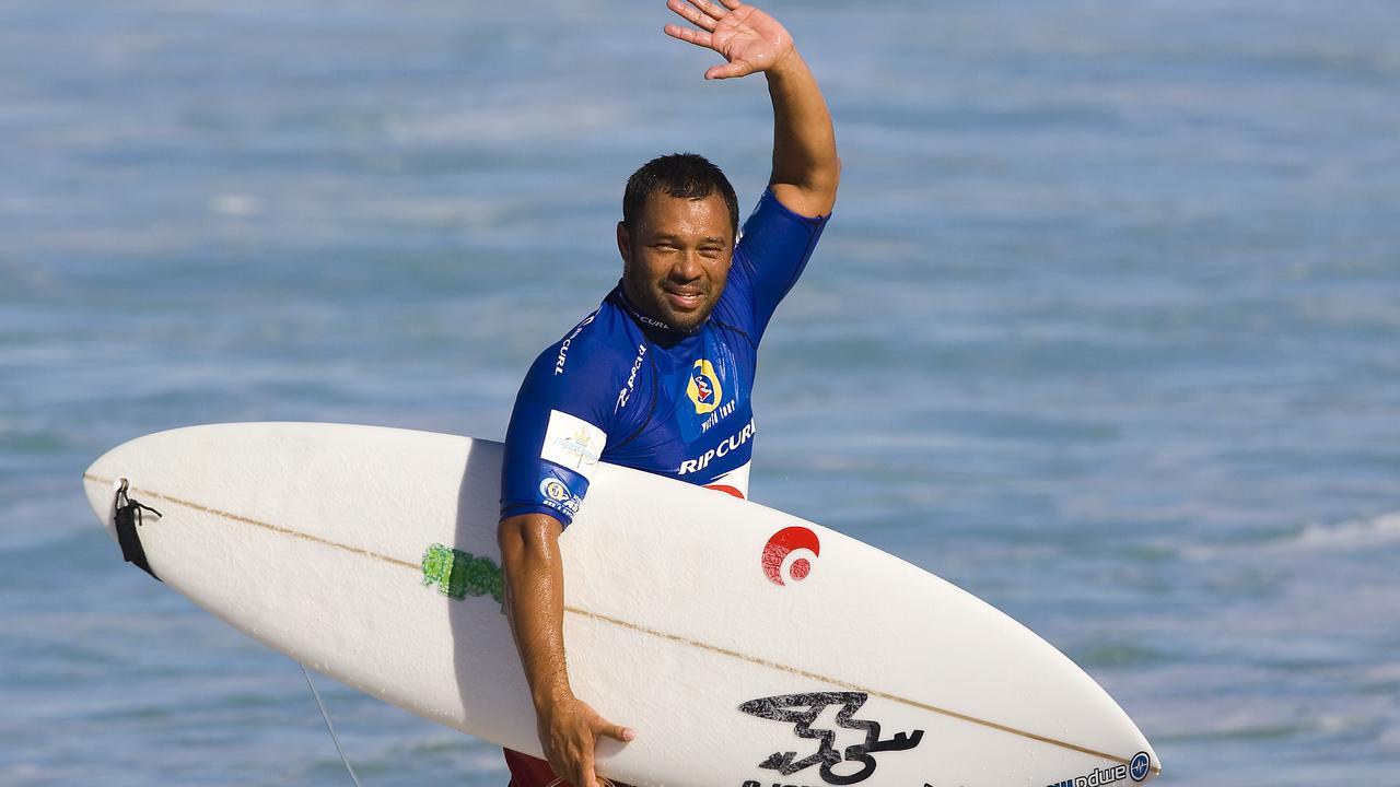 Former ASP World Champion surfer Sunny Garcia.