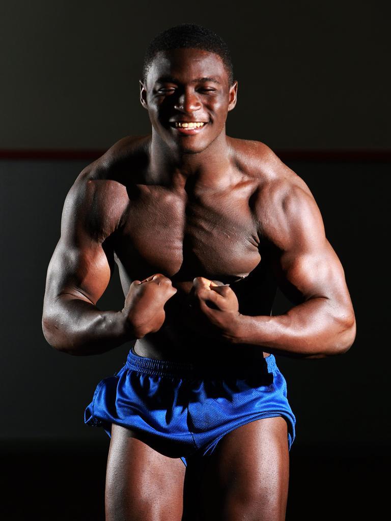 Bodybuilder Musa Forna.
