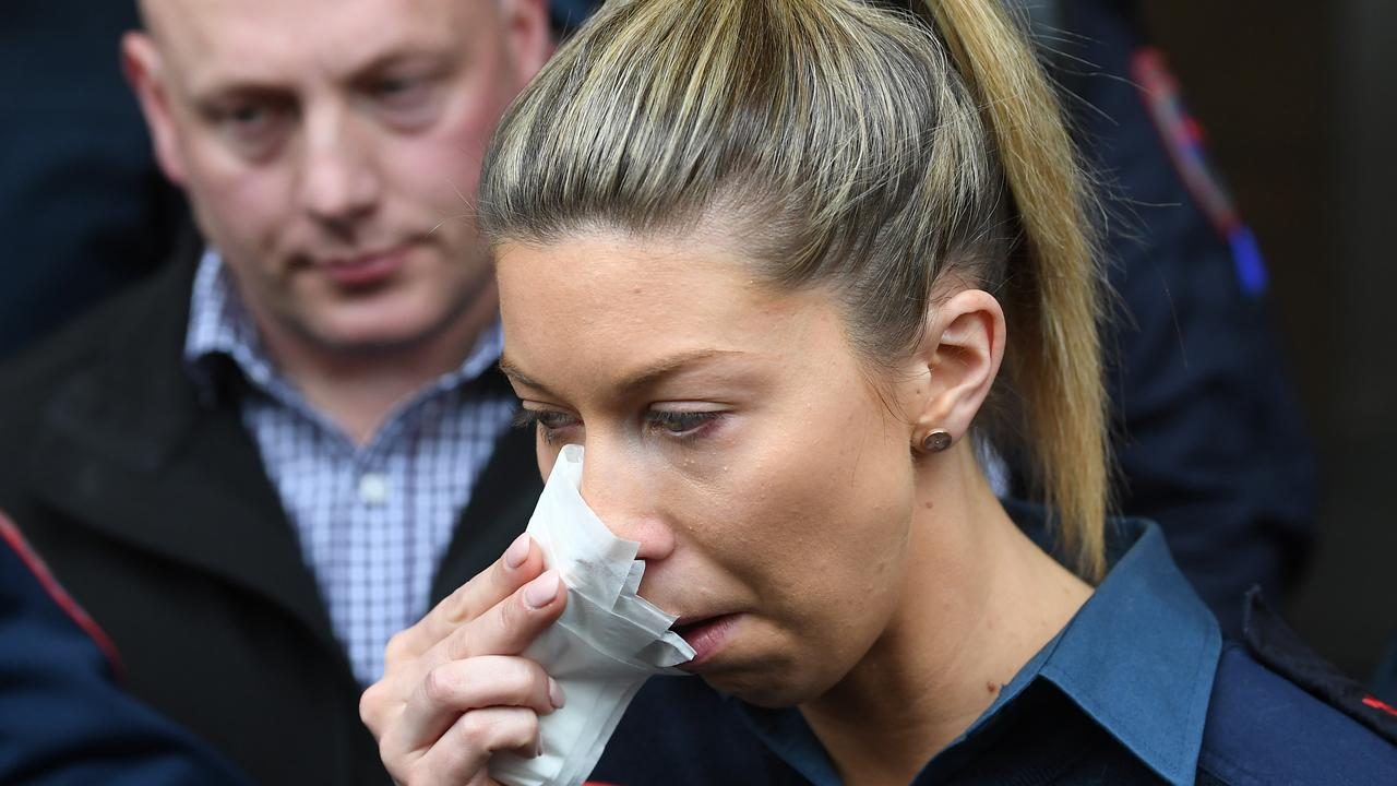 Paramedic Monica was bashed on the job. Picture: AAP Image/Julian Smith