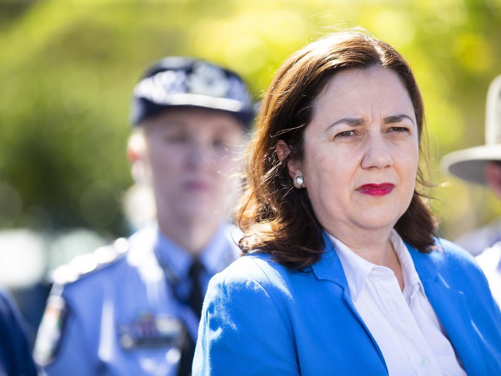 Qld Premier Annastacia Palaszczuk. Photo Lachie Millard