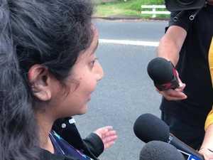 Students discuss lockdown