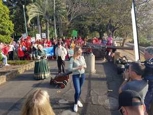 Redheads rallied in park for new festival