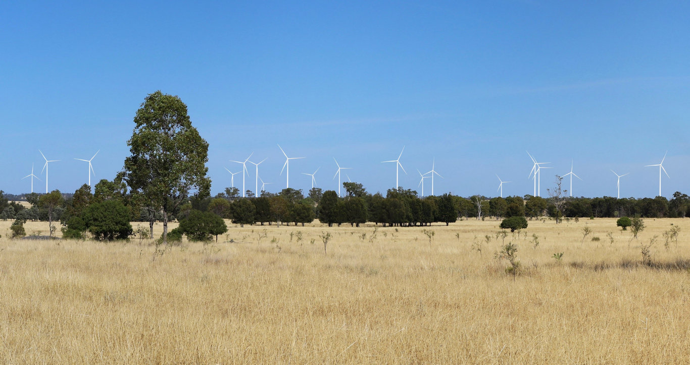 GO LIKE THE WIND: What the 56 turbine Dulacca wind farm will look like upon completion in 2021.