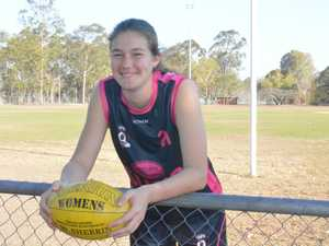 Sophie Ure is the only Capricornia player in the