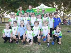 ACTIVE KIDS: The Hervey Bay League Stars squad and
