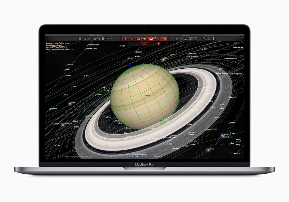 LEARNING: The MacBook Pro has some great apps for students.