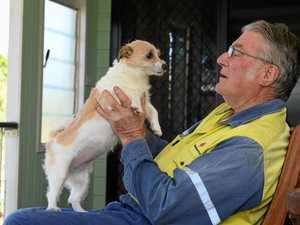 CANINE THERAPY: How a dog saved this M'boro man's life