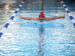 Young swim star impresses selectors, books spot in Qld squad